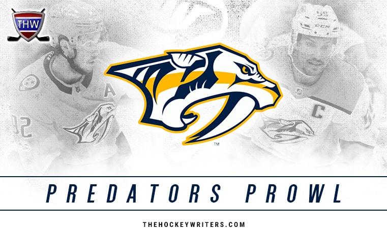 Nashville Predators Weekly: P.K. Loses Subban Brother Battle