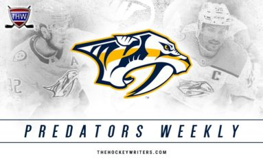 Predators Weekly: Arvidsson's Big Week