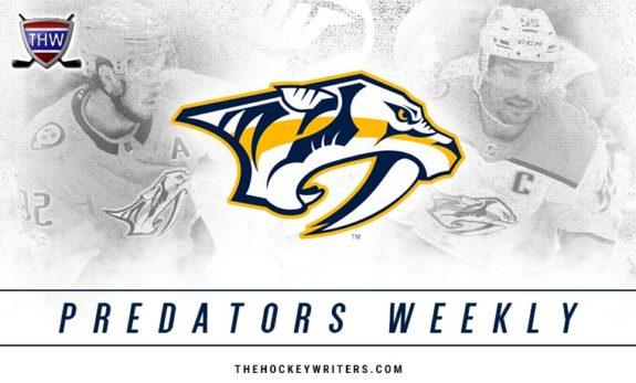 Nashville Predators Weekly
