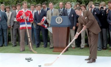 Washington Capitals and the White House