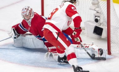 Canadiens Down Red Wings - Price Passes Plante