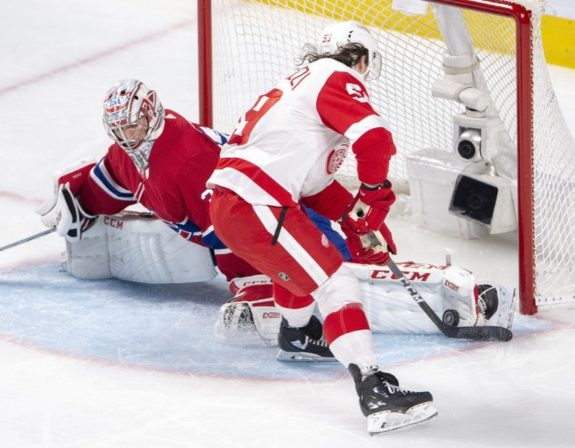 Montreal Canadiens Carey Price Detroit Red Wings Tyler Bertuzzi