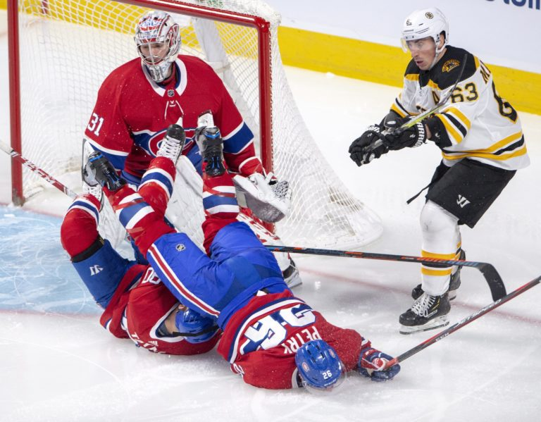 Boston Bruins Brad Marchand Montreal Canadiens Carey Price