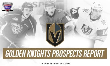 Vegas Golden Knights Prospects: Krebs Signs, Dugan's Big Month, More