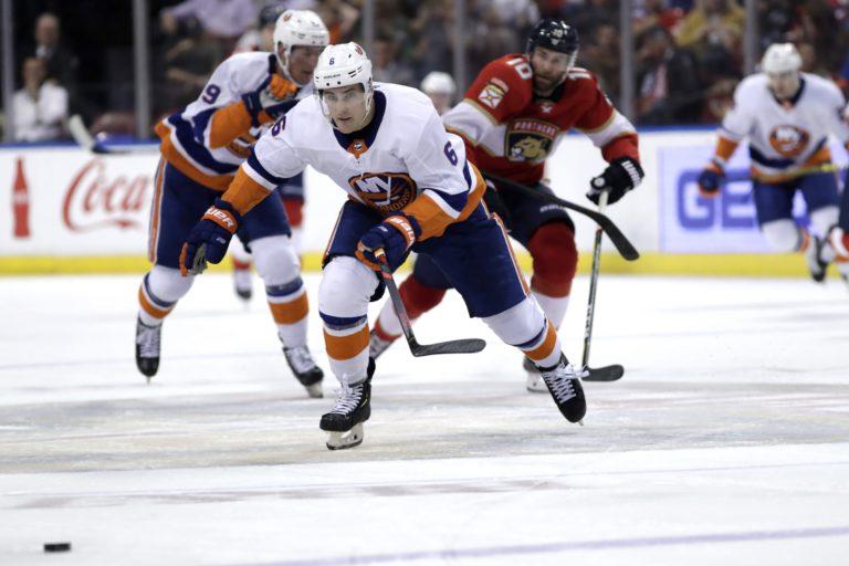 New York Islanders Ryan Pulock