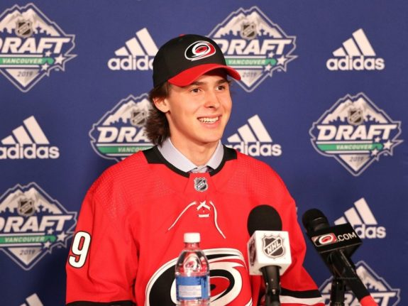 Pyotr Kochetkov Carolina Hurricanes Draft