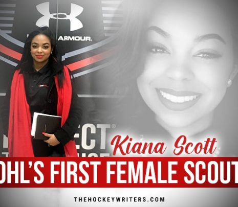 The OHL's First Female Scout, Getting to Know Kiana Scott