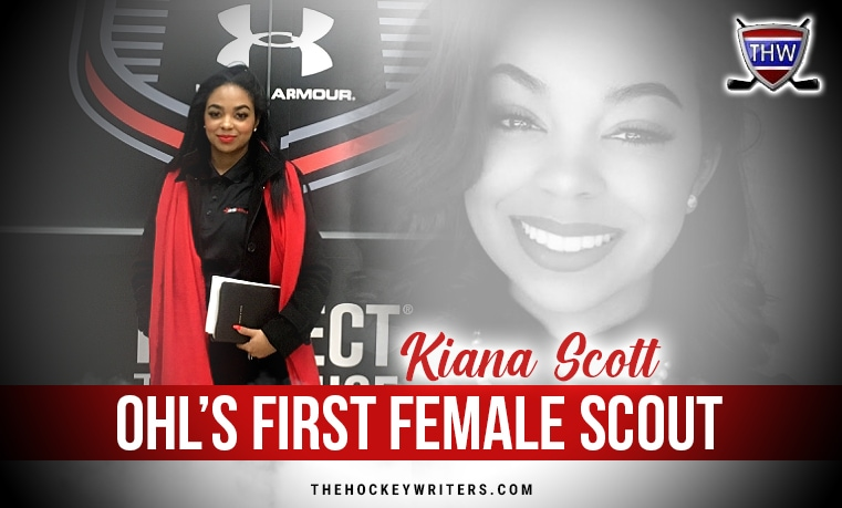 OHL's first female scout Q&A Kiana Scott