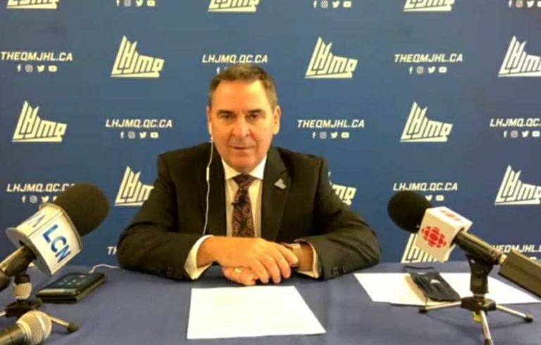 QMJHL Commissioner Gilles Courteau