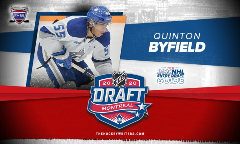 The Hockey Writers 2020 NHL Entry Draft Guide Quinton Byfield