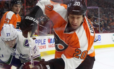 R. J. Umberger Trade Starting To Pay Off For Flyers
