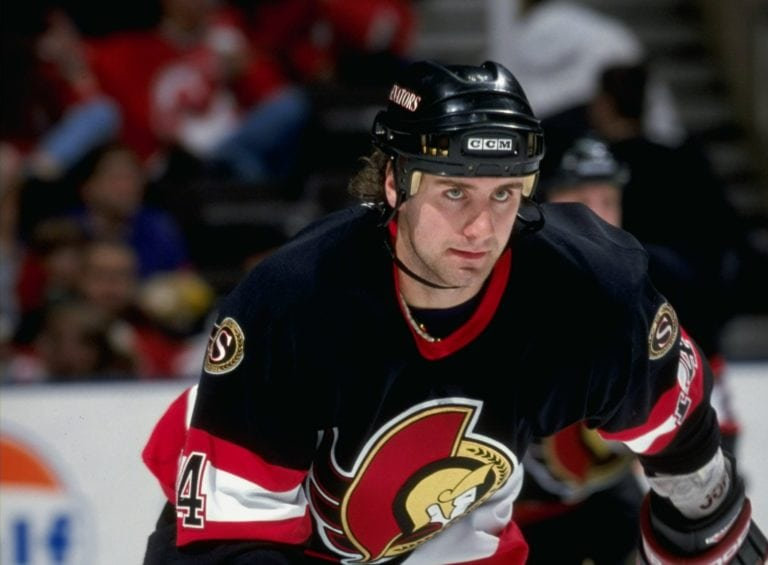 Ottawa Senators Radek Bonk