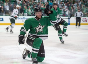 The Dallas Stars took advantage of Minnesota's inability to stay out of the penalty box Thursday night. (Jerome Miron-USA TODAY Sports)