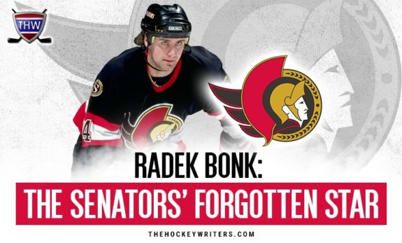 Radek Bonk: The Ottawa Senators' Forgotten Star
