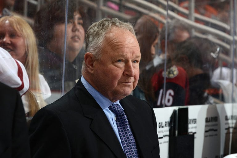 Head coach Randy Carlyle