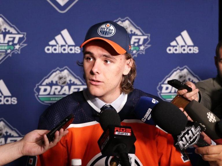 Raphael Lavoie Edmonton Oilers Draft
