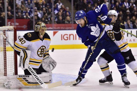 Toronto Maple Leafs William Nylander Boston Bruins Tuukka Rask