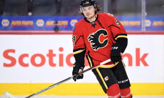 Rasmus Andersson Is Key to Flames Moving Forward