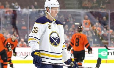 Sabres Defenceman Dahlin Out Indefinitely with Concussion
