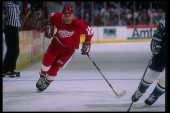 Ray Sheppard Detroit Red Wings