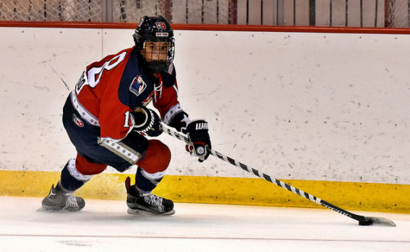 Rebecca Russo of the New York Riveters. (Photo Credit: Troy Parla)