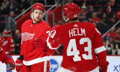 Red Wings Rebuilding Success One Milestone at a Time