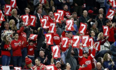 Red Wings 12 Days of Hockeymas: 7 Art Ross & 7 Frank J. Selke Trophies