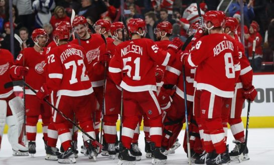 Red Wings Beat Senators - Athanasiou Tallies Two