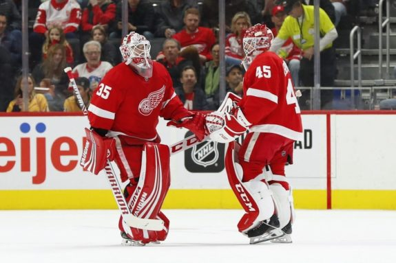 Detroit Red Wings Jonathan Bernier Jimmy Howard