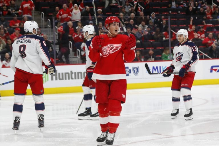 Gustav Nyquist Detroit Red Wings