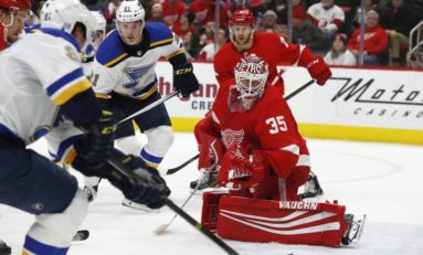Red Wings & Blues: Striking a Jimmy Howard Deal