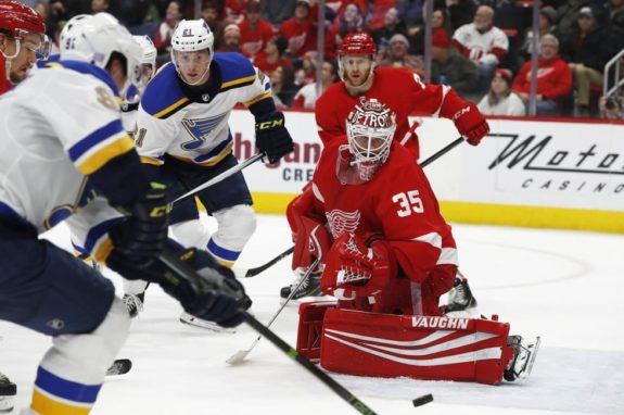 Jimmy Howard, Vladimir Tarasenko