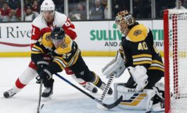 Red Wings Beat Bruins - Howard With 37 Saves