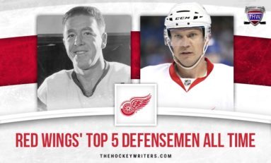Red Wings' Top 5 Defensemen of All Time Ranked