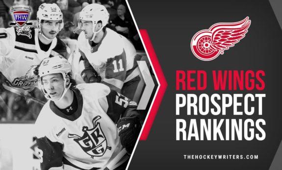 Filip Zadina, Moritz Seider, and Joe Veleno Detroit Red Wings Prospect Rankings