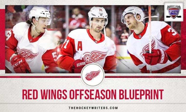 Anthony Mantha, Dylan Larkin, and Tyler Bertuzzi Detroit Red Wings Offseason Blueprint