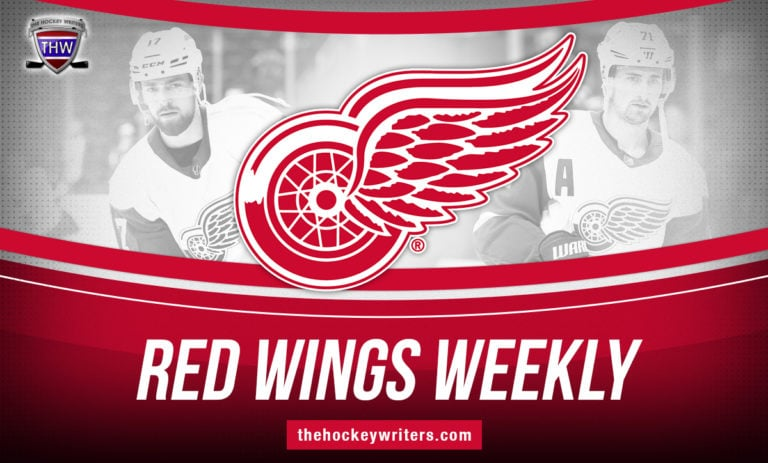 Detroit Red Wings Weekly Dylan Larkin Filip Hronek