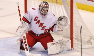 Reimer Gets 22nd Shutout, Hurricanes Beat Red Wings 2-0