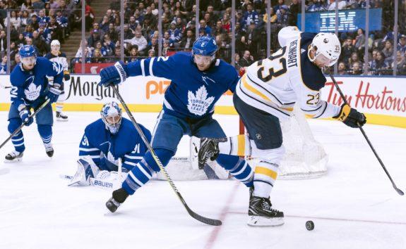 Toronto Maple Leafs Ron Hainsey Buffalo Sabres Sam Reinhart