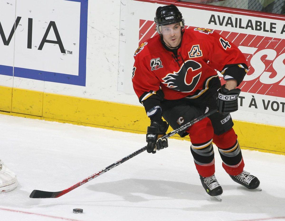 Rhett Warrener Calgary Flames