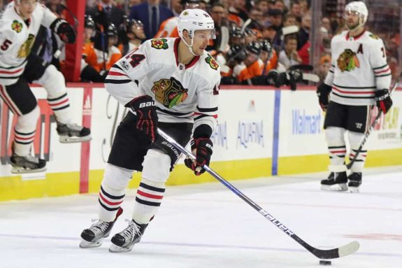 Richard Panik Blackhawks
