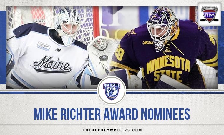 Mike Richter Award (Top Collegiate Goaltender) nominees