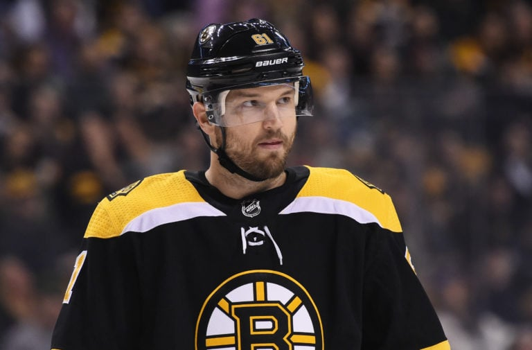 Rick Nash Boston Bruins