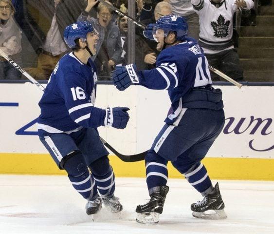 Toronto Maple Leafs Mitch Marner Morgan Rielly