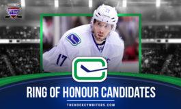 Canucks 'Ring of Honour' Candidates: Ryan Kesler