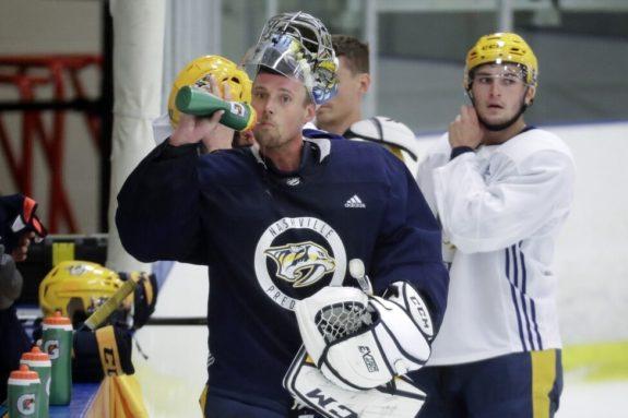 Nashville Predators Pekka Rinne