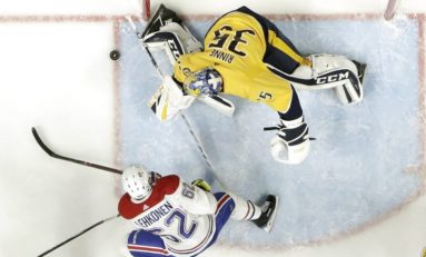 Predators Control Canadiens - Rinne Makes 34 Saves