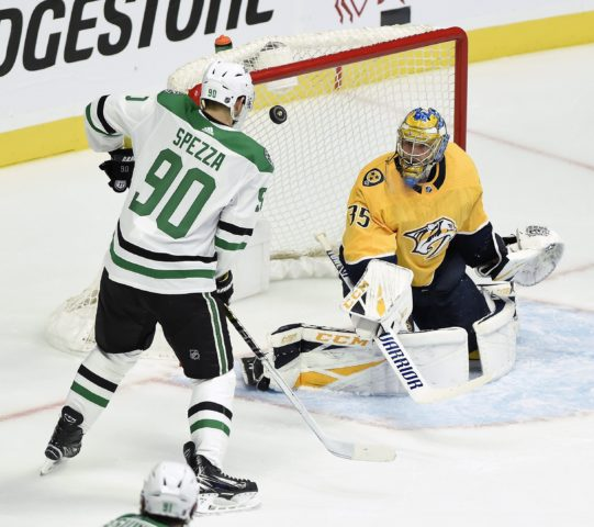 Nashville Predators Pekka Rinne Dallas Stars Jason Spezza