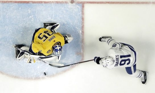 Predators Blank Stumbling Maple Leafs - Rinne Gets Shutout