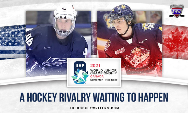 Jake Sanderson and Jamie Drysdale A Hockey Rivalry Waiting to Happen WJC 2021